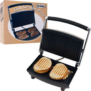 Chef Buddy Grill and Panini Press - Non-Stick, 1 ea