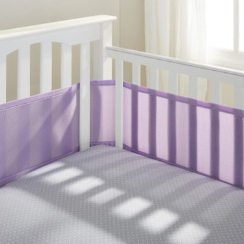 BreathableBaby Breathable Mesh Crib Liner by Breathable Baby-Lavender