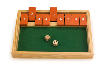 Sunnywood, Inc. Sterling Games Classic Shut The Box #9