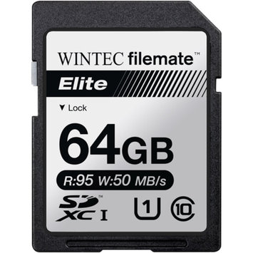FileMate Wintec Filemate Elite 64GB SDHC UHS-1 Memory Card Class 10