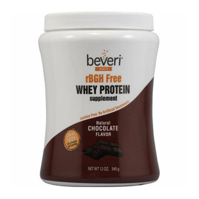 Beveri Nutritionals Beveri rBGH Free Whey Protein Powder Chocolate 12 oz