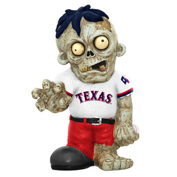 Recaro North Forever Collectibles MLB Resin Zombie Figurine, Texas Rangers