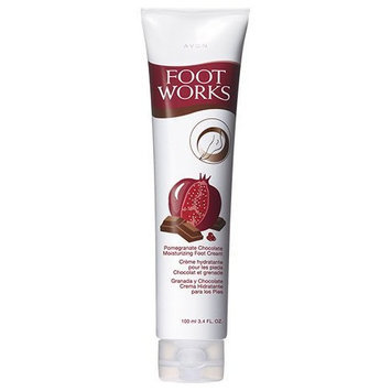Foot Works Pomegranate Chocolate Moisturizing Foot Cream