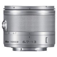 Nikon 1 NIKKOR 6.7-13mm Wide Angle Lens for Nikon 1 Cameras - Silver