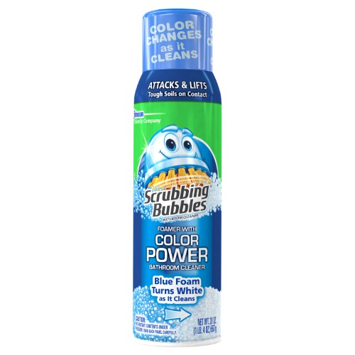 Scrubbing Bubbles Bathroom Cleaning Supplies 20 oz. Bathroom Color Power Cleaner (8-Pack) 70745