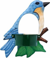 Songbird Essentials Bluebird Window Birdfeeder