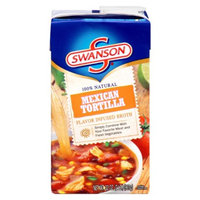 Campbell's Swanson Soup Company Flavor Infused Broth Mexican Tortilla