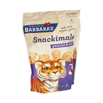 Barbara's Snackimals Peanut Butter Animal Cookies