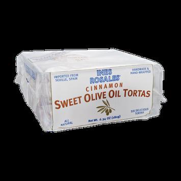 Ines Rosales Cinnamon Sweet Olive Oil Tortas - 6 CT