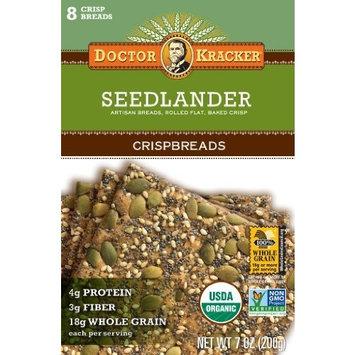 Doctor Kracker Flatbread, Seedlander, 7-ounces (Pack of6)