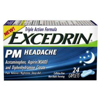 Excedrin Extra Strength Pain Reliever Caplets - 24 Count