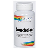 Solaray Broncholair - 60 Capsules - Other Herbs