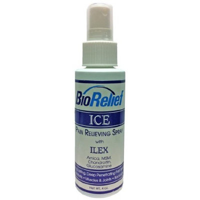 Bioformulas Biorelief Ice Pain Relieving Spray, 2-Ounce