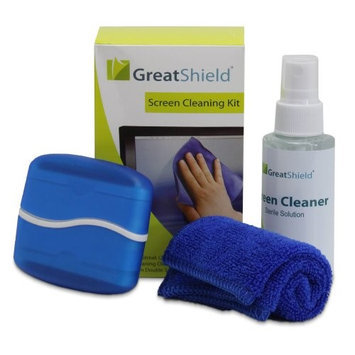 GreatShield 3in 1PC Laptop LCD Monitor Screen Cleaning Kit Cleaner
