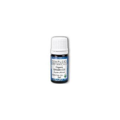 Simplers Botanicals - Organic Ginger CO2 Essential Oil - 0.17 oz.