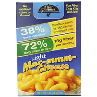 FiberGourmet Mac-mmm-Cheese, 7.25-Ounce Boxes (Pack of 6)
