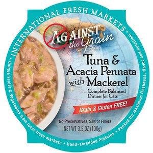 Against the Grain Tuna and Acacia Pennata with Mackerel Dinner for