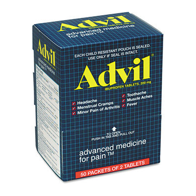 ACME Furniture Acme United Corporation 15000 Advil Pain Reliever Refills 2/PK 50 PK/BX