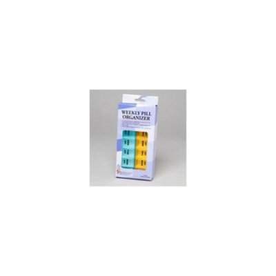 DDI 302218 Weekly Pill Organizer Case Of 72