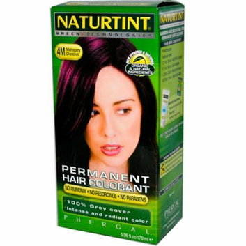 Naturtint Permanent Hair Color 4M Mahogany Chestnut 5.45 fl oz