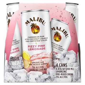 MALIBU Malibu 4pk Pink Fizzy Lemonade