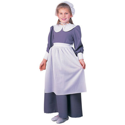 Rubies Costume Co R10557-S Colonial - Pilgrim Girl Child SMALL