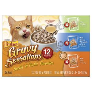 Friskies  Gravy Sensations Cat Food