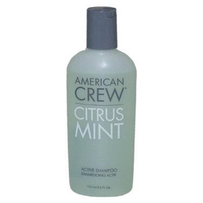 American Crew Shampoo, Citrus Mint Active, 4.20 Ounce