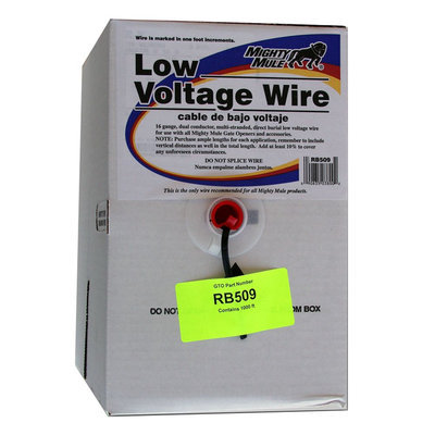 Gto Inc. RB509 1000 ft. Low-Voltage Wire
