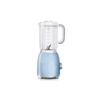 Smeg BLF01PBUS Retro Style Blender with 6 Cups Tritan BPA-Free Jug Detachable Stainless Steel Dual Blades Overload Motor Protection 4 Speeds and 3 Preset