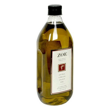 Zoe Diva Select 100% Arbequina Extra Virgin Olive Oil, 1-Liter Bottle (Pack of 2)