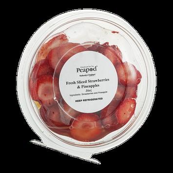 Peapod Fresh Sliced Strawberries & Pineapples