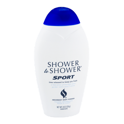Shower to Shower Absorbent Body Powder Sport