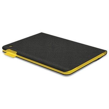 Logitech FabricSkin Keyboard/Cover Case (Folio) for iPad Air - Gray