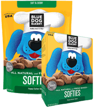 Blue Dog Bakery Softies Peanut Butter Dog Treats