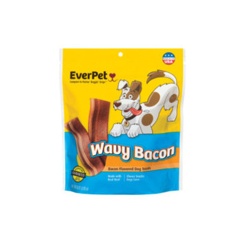 Everpet EverPet Wavy Bacon Dog Treats, 6 oz