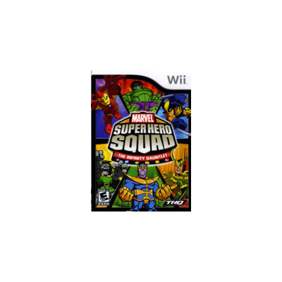 THQ Marvel Super Hero Squad  The Infinity Gauntlet