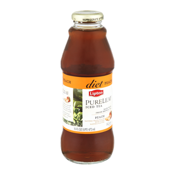 Lipton PureLeaf Diet Peach Iced Tea