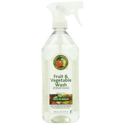 Earth Friendly Products Fruit & Vegetable Wash, 32-Ounce Bottle (Pack of 6)