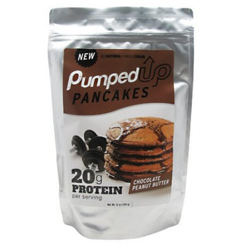Pumped Up Pancakes Pumped Up Pancakes Chocolate Peanut Butter - 12 oz, 6 serv