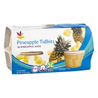 Ahold Pineapple Tidbits - 4 CT