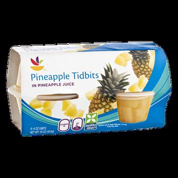 Ahold Pineapple Tidbits - 4 CT