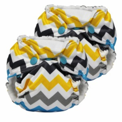 Kanga Care Lil Joey 2 Pack All in One Cloth Newborn Diaper, Charlie, 1 ea