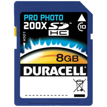 Duracell Pro Photo 200x Secure Digital HC Class 10 8GB