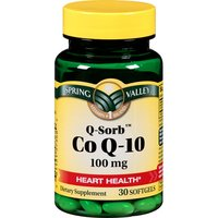Spring Valley Heart Health Co A-10 100 mg 30 ct