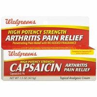 Walgreens Capsaicin 0.1% Cream, 1.5 oz