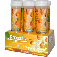 Protica Nutritional Research Proasis Clear Protein Shots Orange Pineapple Case of 6 2.9 oz