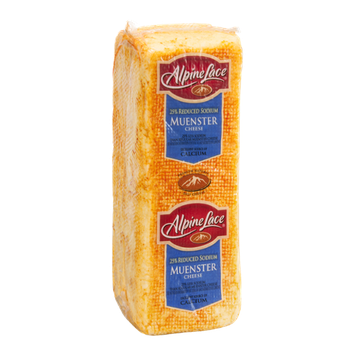 Alpine Lace 25% Reduced Sodium Muenster Cheese