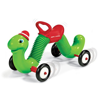 Radio Flyer Inchworm Ride on Toy