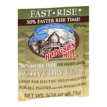 Hodgson Mill Active Dry Yeast Fast Rise
